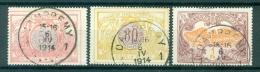 "BELGIE - OBP Nr TR 35 + 39 + 41 - Cachet  ""DAMPREMY 1"" - (ref. AD-2039) - 1895-1913"
