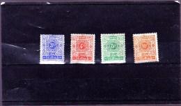 MAROC : Y&T :TT 49* à 52* - Maroc (1891-1956)