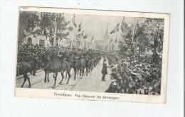 TRONDHJEM PAA HJEMVEI FRA KRONINGEN 1906 - Norvège