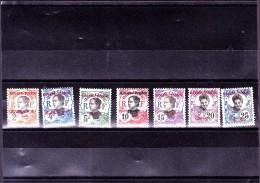KOUANG-TCHEOU : Y&T : 19* à 25* - Kouang-Tchéou (1906-1945)
