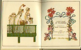 « The Language Of Flowers » - Ed. F. Warne & Co. Ltd - London - Illustrateur : GREENAWAY, K. - Autres
