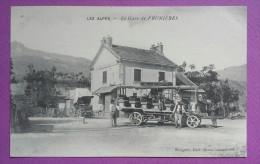 """05 LES ALPES- La Gare De PRUNIÈRES. """" Cpa """" - Andere Gemeenten"""