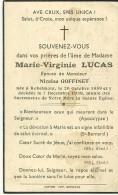 Meix Devant Virton Marie Virginie Lucas Epouse De Nicolas Goffinet Robelmont 1859 1938 - Meix-devant-Virton