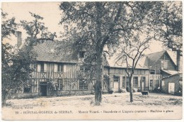BERNAY - Hopital Hospice - Manoir Vicard, Buanderie Et Lingerie, Machine à Glace - Bernay