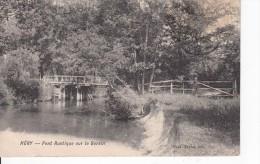Cp , 89 , HÉRY , Pont Rustique Sur Le Serein