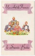 Dépliant 4 Volets : Un Art De France, Le Savoir-boire / Vin, Verre, Cave, Grands Millésimes - Publicités
