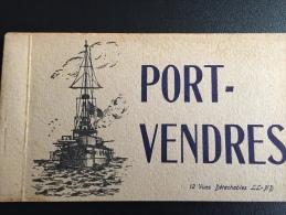 FR66 PORT VENDRES - Carnet Complet De 12 Cpa - LL ND - Bel état - Voir Scans - Port Vendres