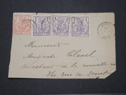HAITI - Env (devant) De Jacmel Pour La France Avec 3 X N°25 Et 1 X N° 31 - Année 1892 Ou 1893 - Pas Courant - N° 16043 - Haïti