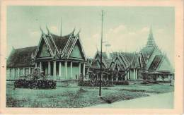 Cambodge - Pnom-Penh - Ecole Du Palais Royal - Cambodia