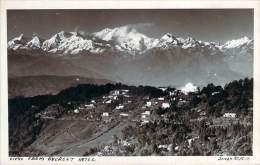 Népal - View From Everest Hotel, Carte Photo - Népal