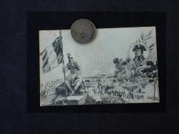 -CARTE  ECRITE EN 1907 - CONTE DE SERURIER - TIMBRE - - Personnages