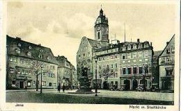 Jena   237        Markt M.Stadtkirche - Jena