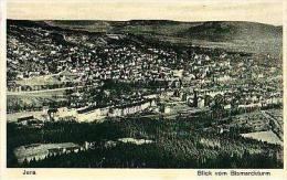Jena   243        Blick Vom Bismarckstum - Jena