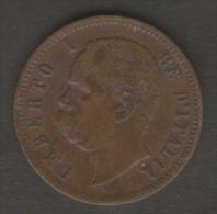 ITALIA 2 CENTESIMI 1900 UMBERTO I - 1861-1946 : Regno