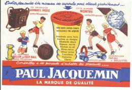 BUVARD MOUTARDE PAUL JACQUEMIN - Blotters