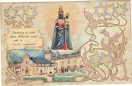 Italie - Cpa - Prostrata Ai Piedi Della Madonna Nera, Per Te, Innalzai Preghiera - Unclassified