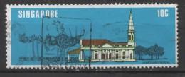 SINGAPORE 1978 National Monuments - 10c. - Armenian Church  FU - Singapour (1959-...)