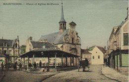 "Maintenon    "" Place Et Eglise Saint Pierre "" - Epernon"