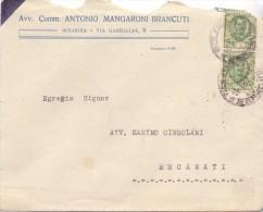 AVV. MANGARONI BRANCUTI - BOLOGNA   12X18 - LS -  TEMA TOPIC COMUNI D´ITALIA - STORIA POSTALE - Affrancature Meccaniche Rosse (EMA)