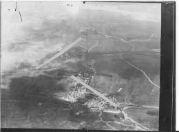 28/03/1917 Courcy Marne Vue Oblique De La Verrerie De Loivre 1 Photo Aérienne 1914-1918 Ww1 Wk1 - War, Military