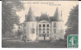 Cpa Reynel - L'Entrée Du Château . - France