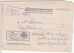 Italy: PoW Prisoner Of War Cover, Stalag VI J To Reggio Emilia, 1 June 1942 - Militaria