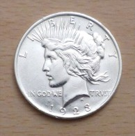 USA PEACE DOLLAR 1923 - Émissions Fédérales
