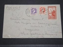 ALGERIE - Env Par Avion Alger Pour Brazzaville (Poste Française De Radio Nationale) Affr. Rare - Nov 1944 - P16056 - Algérie (1924-1962)