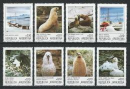 Argentinien 1986, Mi 1798-1809 ** MNH - Birds