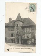 Cp , 15 , VIC SUR CERE , Maison Du PRINCE DE MONACO , Voyagée - Frankreich