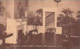 West Virginia Wheeling Dining Room Mansion Museum Oglebay Park A