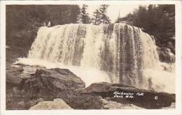 West Virginia Davis Blackwater Falls Real Photo