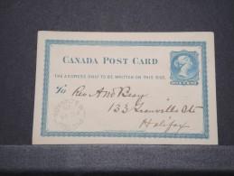 CANADA - Lot De 5 Entiers - A Voir - Lot N° 10629 - 1860-1899 Regering Van Victoria