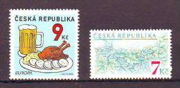 Czech Republic Minilot Monetary Fond Europa Cept Gastronomy Mi No 269 433 MNH - Neufs