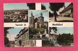 25 DOUBS MONTBELIARD, Multi-Vues, 1954, (CAP, Paris) - Montbéliard