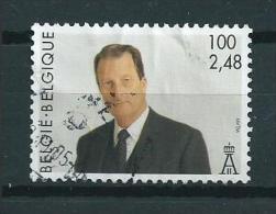 2001 Belgium King Albert 100 BFR/2,48 Euro Used/gebruikt/oblitere - Belgique
