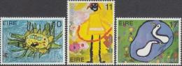 Ireland 1979 International Year Of Child IYC Children Art Drawing Bird Celebrations Stamps MNH SC 453-455 Michel 401-403 - Unclassified