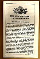 Image Pieuse Religieuse Holy Card Double - Oeuvre De La Sainte Enfance But Et Histoire - Imp. Dupont Paris - 1869 ? - Images Religieuses