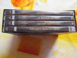 Coffret 4 Dvd Western Neuf Les 7 Mercenaires - Western / Cowboy