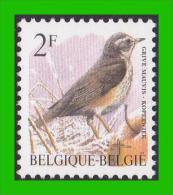 BUZIN - 2653 P8a** Grive Mauvis / Koperwiek - CPFL (Papier FLUO - Geelachitige Gom Jaunâtre) - 1985-.. Vögel (Buzin)
