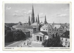 Cpsm: ALLEMAGNE - GERMANY - OLDENBURG - Lambertikirche, Landessparkasse  N° 1/9016 - Oldenburg