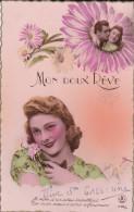 FETE---MON DOUX REVE----jeune Femme + Fleurs---voir 2 Scans - Femmes