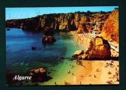 PORTUGAL  -  Algarve  Lagos  Praia Da Dona Ana  Used Postcard As Scans - Faro