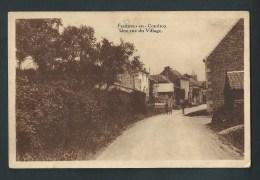Fraiture - En - Condroz. Une Rue Du Village. - Tinlot