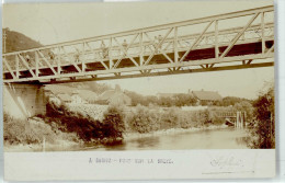 51036691 - SUGIEZ - Pont De La Broye - Carte Photo 1903 - FR Freiburg