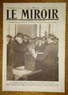 Le Miroir Du 23/11/1919 - Clémenceau - Reine Des Belges Chez Les Peaux-Rouges (Indiens Arizona) - Elections - Niox - Livres, BD, Revues