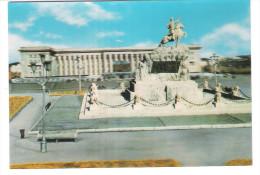Mongolia - Ulan Bator - Government Palace - Stereo 3D Card - Mongolei
