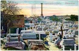 Alexandrie   Colonne Pompee Et Cimetiere - EGYPT - Alexandria