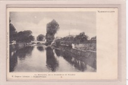 RAMBERVILLERS - 88 - OUVRAGES - PONTS - RIVIERES - La Montagne, De La Passerelle Du Collège - Rambervillers