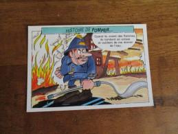 CPM Cpsm Cpa 1989 Cp Illustré  HUMOUR SAPEUR POMPIER Histoire De Pompier FIREMAN Soldat Feu LANCE INCENDIE EDIT BELGIQUE - Sapeurs-Pompiers